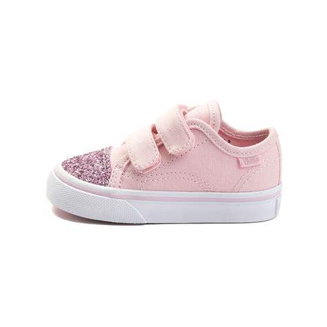light pink infant shoes toddler vans style 23v glitter skate shoe pink 99499241