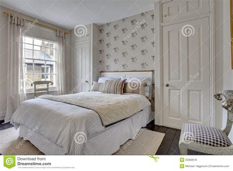 traditional bedroom decor royalty  stock