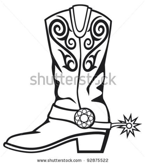 cowboy boot illustrations and clip art 1346 cowboy boot cowboy boot stock vector clipart panda free clipart