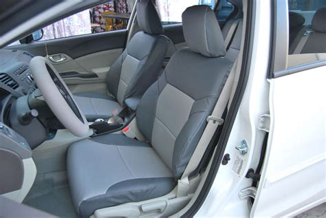 custom leather seats for honda civic honda civic sedan 2012 iggee s leather custom fit seat