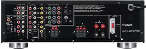 yamaha rx  dual voltage av receiver world import