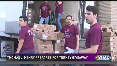 Thomas J Henry Turkey Giveaway 2017 - annual turkey giveaway kiiitv com