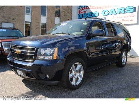 chevy suburban blue 2009 chevrolet suburban lt 4x4 in blue metallic