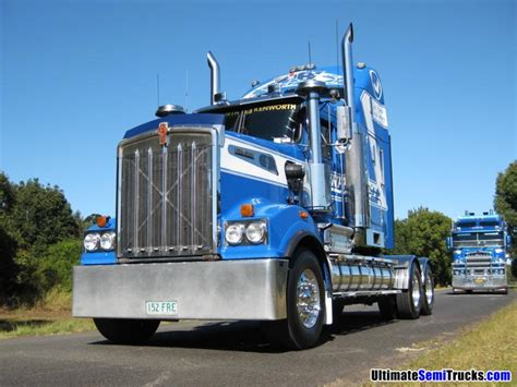 aussie kenworth trucks ultimatesemitrucks com australian trucks mainfreight