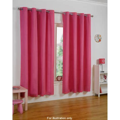 cerise pink eyelet curtains b m