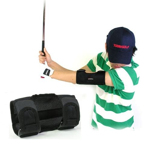 swing elbow tac tic elbow golf swing tempo trainers