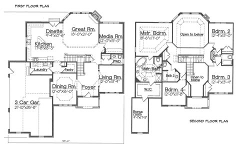 Princeton Floor Plans by The Princeton Model Klimaitis Builders Kci