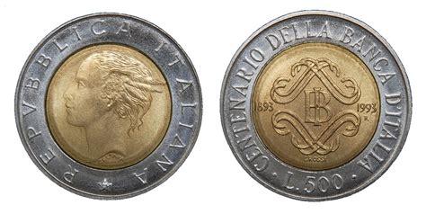 500 lire centenario d italia valore 100 anni di monete