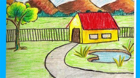 nature sketch  kids  paintingvalleycom explore