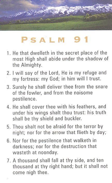 printable version psalm 91 psalm 91 nkjv