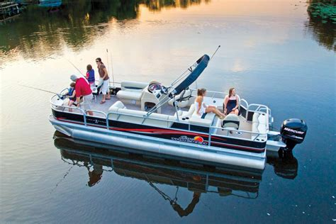 bass pro boat loans sun tracker boats fishing pontoons 2015 bass buggy 16