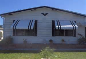 mobile home window awnings clamshell awning