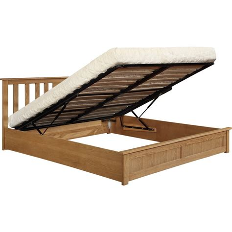 Lift Bed Frame by Cohiba Size Wood Gas Lift Storage Bed Frame Buy