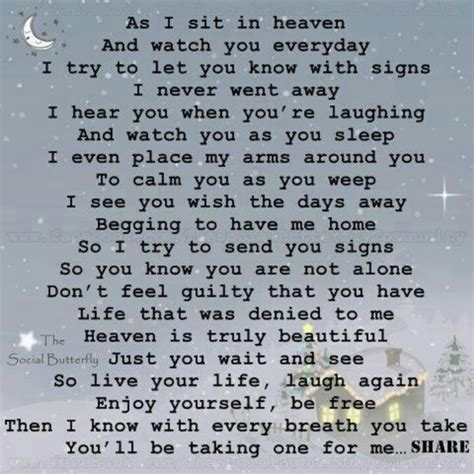 in heaven poem as i sit in heaven poems quotes it
