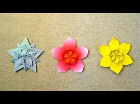 Origami Flower 100th - origami flower flor de papel 4 p 233 talos vidoemo