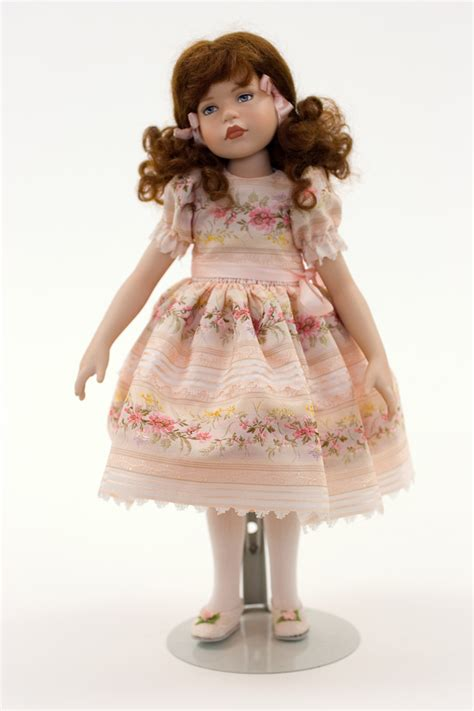 porcelain 1 2 dolls dottie porcelain collectible doll
