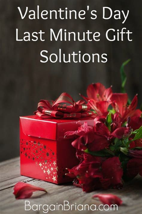 Last Minute Valentines Specials by S Day Last Minute Gift Solutions Bargainbriana
