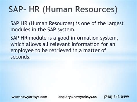 tutorial sap hr module sap hr hcm online training materials and videos at newyorksys
