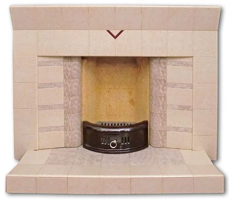 1950s Fireplace by 1950 S All Tiled Fireplace Twentieth Century Fireplaces