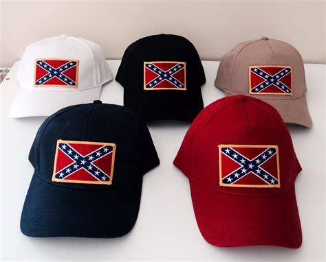 Topi Baseball Black Rebell Colour Blue confederate caps confederate rebel flag
