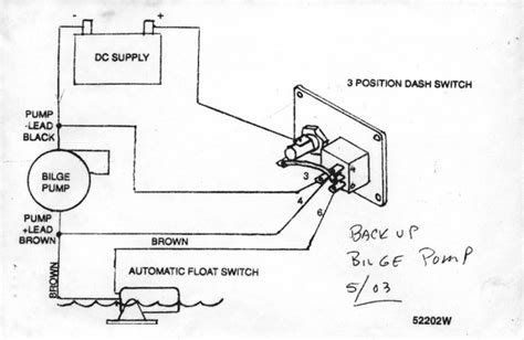wiring a bilge and float switch diagram free