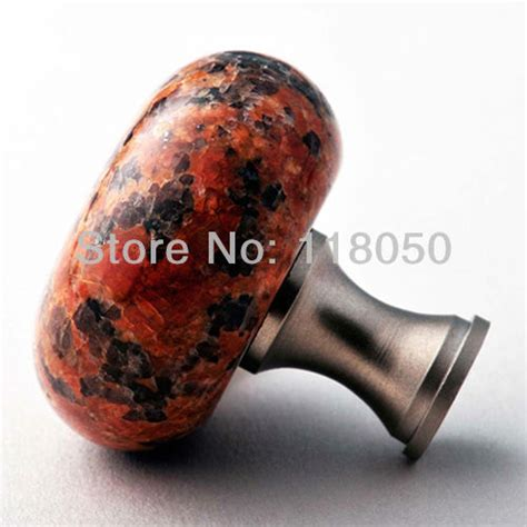 granite marble natural stone kitchen cabinet cupboard door classic chinese furniture hardware 40mm red granite