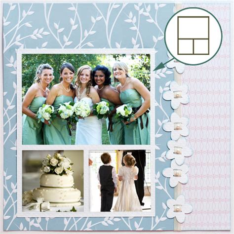 Wedding Scrapbook Layouts Ideas by Delores S Sure Cuts A Lot 2 Wedding Layout See How