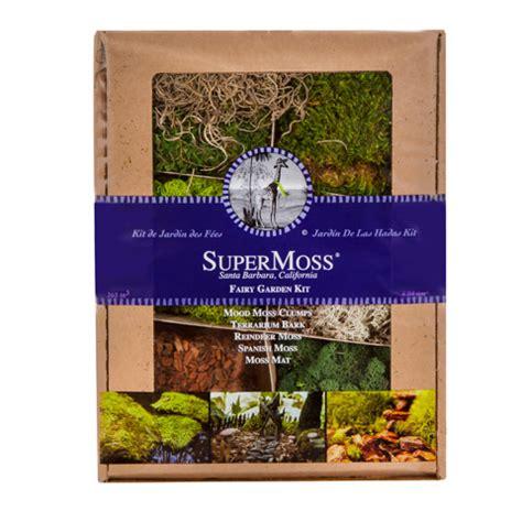 supermoss 174 fairy garden moss kit consumercrafts