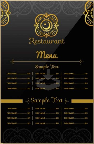 Top 30 Free Restaurant Menu Psd Templates In 2018 Colorlib Indian Menu Template Free