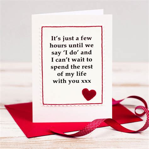 Wedding Card For Husband by Wedding Day Card For Husband Or By Arnott Cards