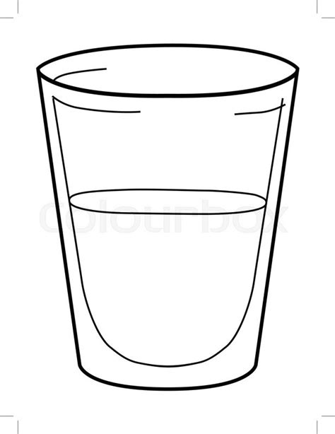 Glass Outline by Water Outline Pictures To Pin On Pinsdaddy