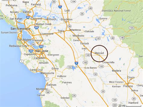 california map merced merced ca pictures posters news and on your