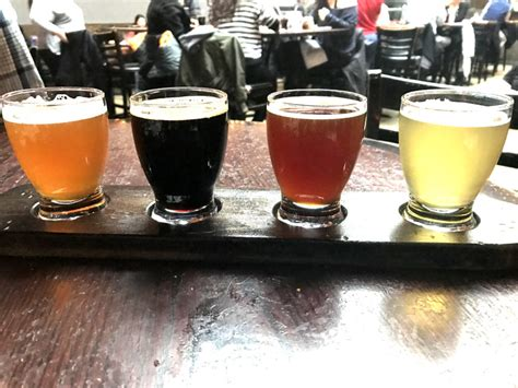 To Handcrafted Beers Made In Local Breweries - brewery and pizzeria review go visit chicago