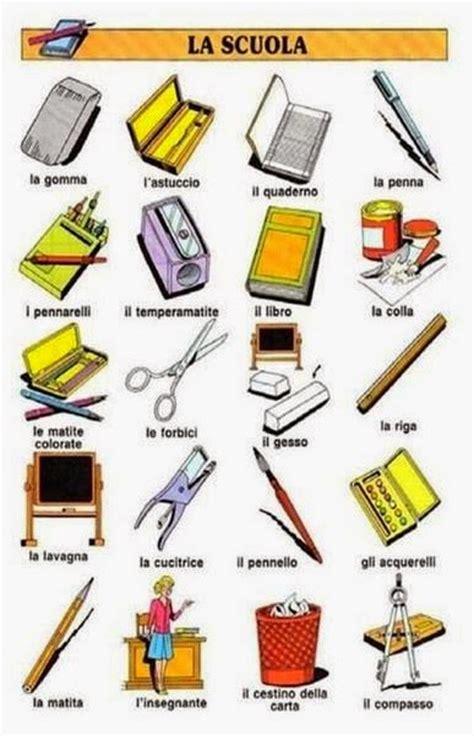 imagenes de objetos escolares bakker idiomas objetos escolares em italiano
