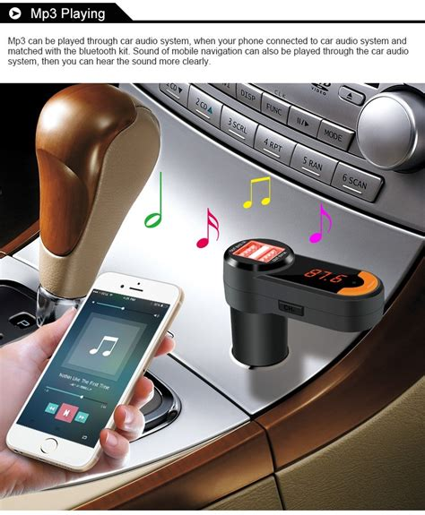 Bc10 Bluetooth Car Charger Fm Transmitter Free Auto kelima bc10 bluetooth dual usb car charger w fm transmitter free shipping dealextreme