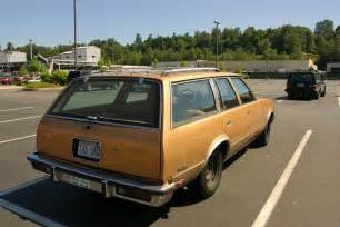 parked cars 1980 chevrolet malibu classic wagon