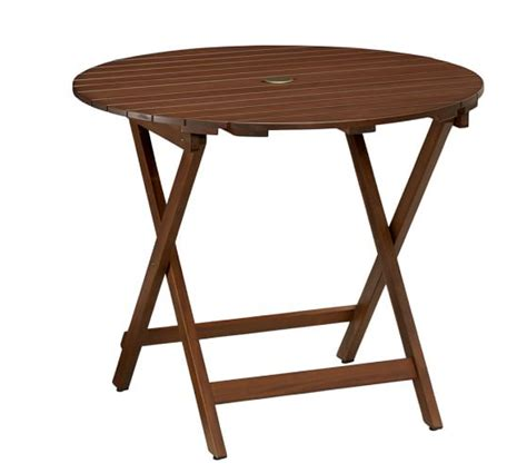 pottery barn bistro table chatham folding bistro table pottery barn