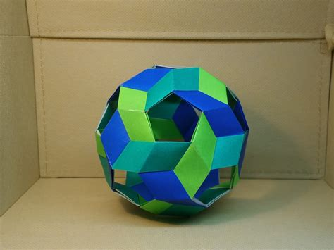 Origami Sphere - pin origami sphere on