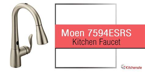 Moen 7594ESRS Arbor Single Handle/Hole Pull Down Kitchen