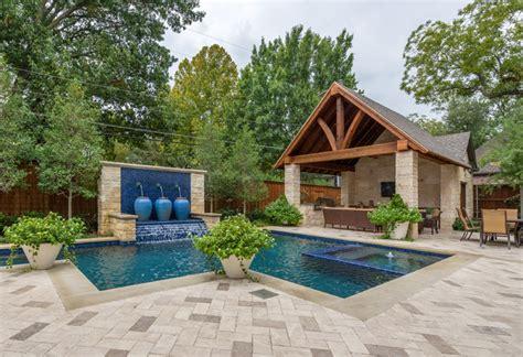 backyard bbq dallas dallas backyard pool retreat traditional pool dallas by harold leidner