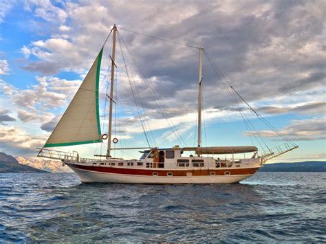 cabin charter rent a cabin on gulet and cruise croatia orvas yachting