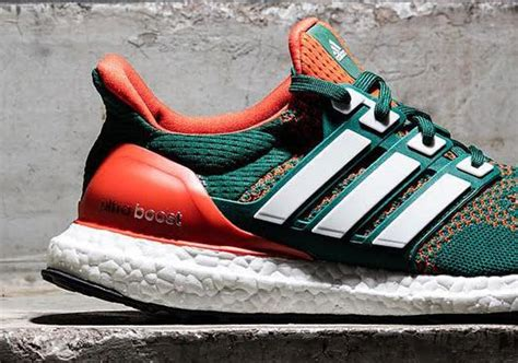 Nike Ultra Boost adidas ultra boost quot miami hurricanes quot sneakernews