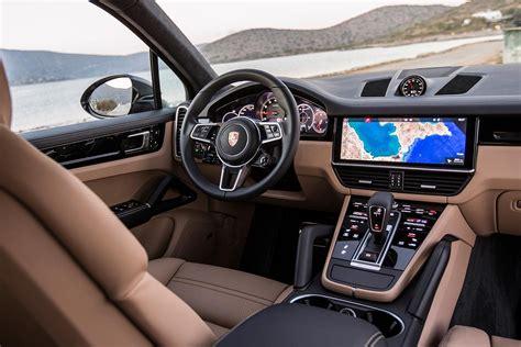 porsche cayenne interior 2018 porsche cayenne s review motor