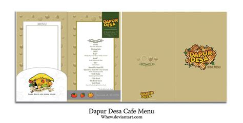 layout dapur cafe dapur desa cafe menu by whew on deviantart
