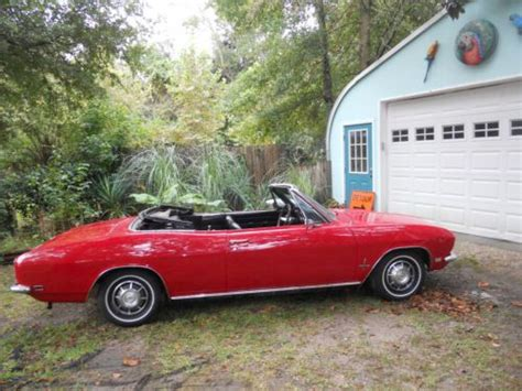 1968 chevy corvair convertible for sale buy used 1968 chevrolet corvair 4 speed convertible in