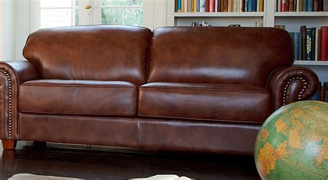 Plush Leather Sofa Plush Leather Sofas The Plush Leather Sofa Faced A Gorgeous Fireplace Picture Of Thesofa