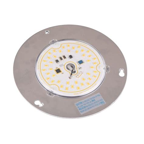 hunter fan led light replacement 17 watt led assembly 13431102702300 the home depot