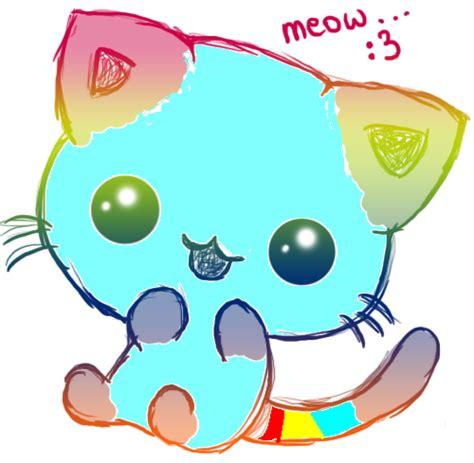 imgenes bonitas de kawaii para descargar kawaii rainbow kitty 3 by moonkawaii55 on deviantart