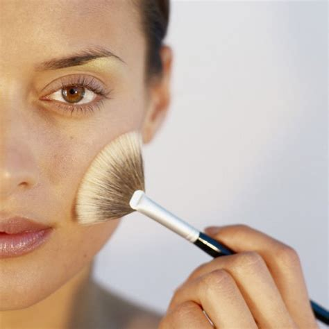 what is a fan makeup brush used for how to use a fan brush to apply makeup popsugar