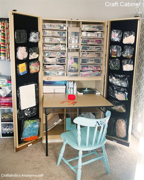 Craft Storage Cabinets by Craftaholics Anonymous Craft Cabinet The Craftbox